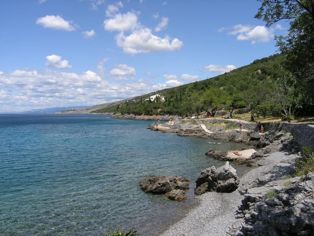 Kalić beach near by Sveti Juraj